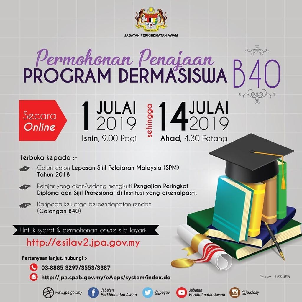 Program Dermasiswa B40